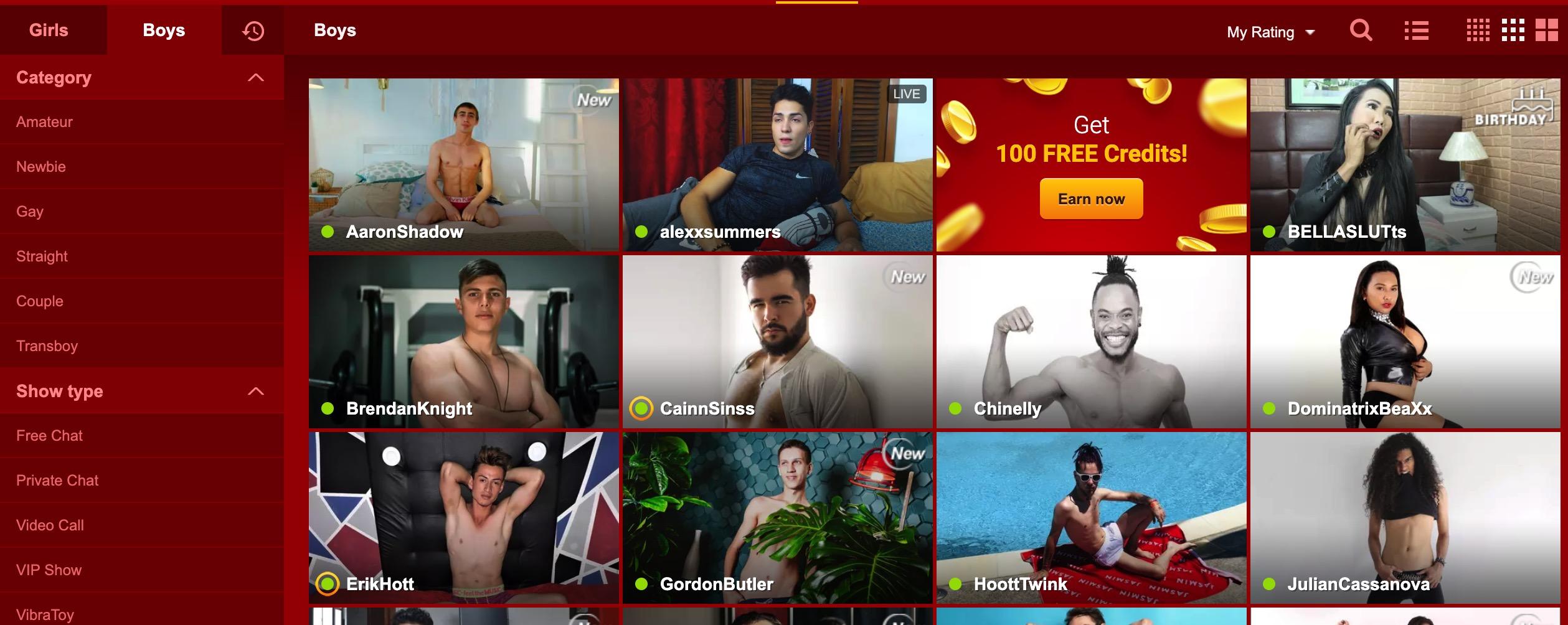 Online Cam Boys where to flirt online with a gay man   xchatz gay