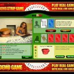 online strip card game